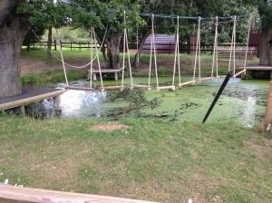 Pond ropes